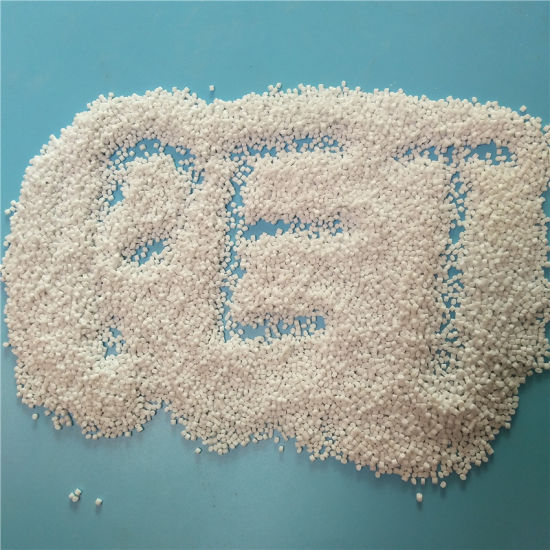 Recycled pet bottle granules