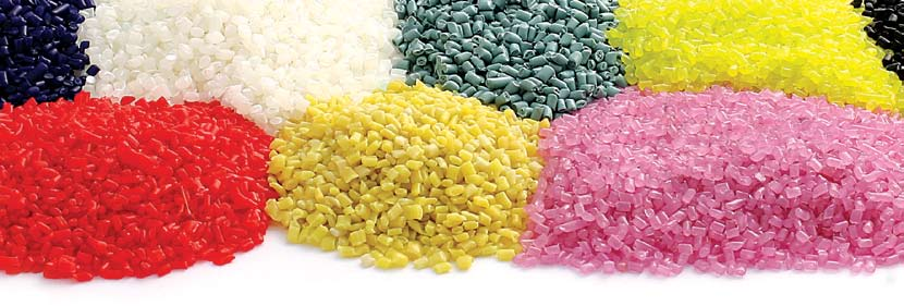 recycled PVC granules