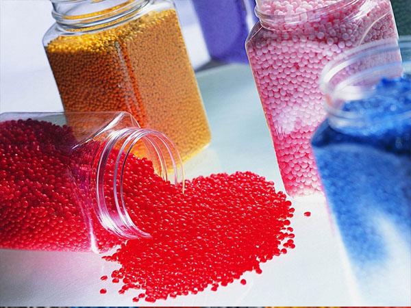 Polypropylene polymer granules